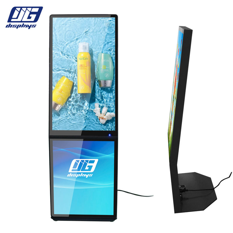 Multiple Zone L Board LCD Digital Screen With Magnetic Led Advertising Light Box