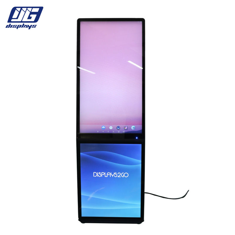 Hanging System 32 Inch LCD Advertising Display / LCD Media Players With LED Light Box